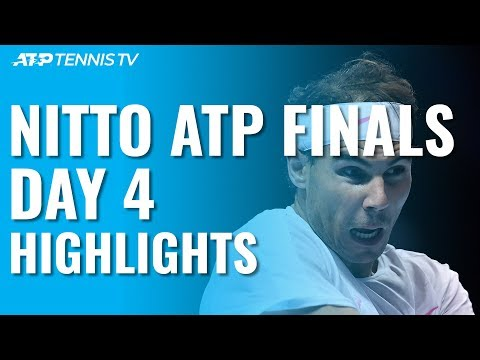 Nadal Fights Back To Defeat Medvedev; Tsitsipas Into Last Four | Nitto ATP Finals Day 4 Highlights
