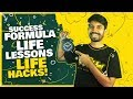 Success Formula | Life Lessons | Student Hacks | Keynote Speech
