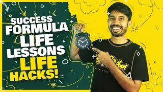 Success Formula   Life Lessons   Student Hacks   Keynote Speech