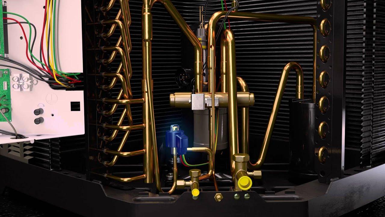 rheem prestige series variable speed air conditioners and heat pumps [ 1280 x 720 Pixel ]