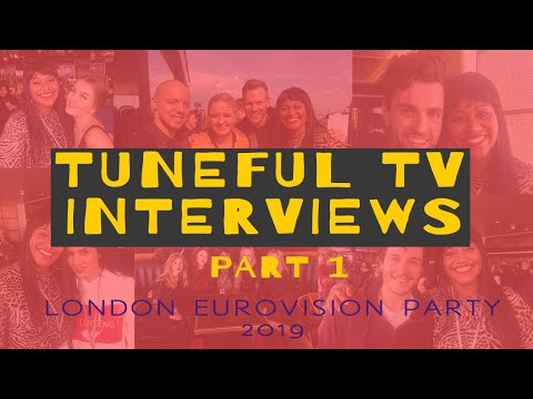 INTERVIEWS AT LONDON EUROVISION PARTY 2019 FEAT DUNCAN, BILAL, MIKI, JONIDA, TULIA, KEIINO & HOLLY!