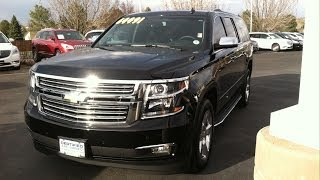 2015 Chevrolet Suburban LTZ 4x4 (Start Up, In Depth Tour, and Review)