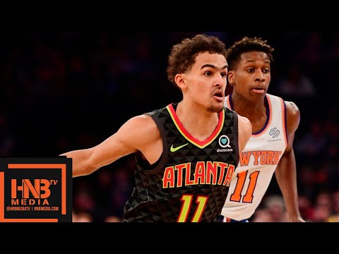 Atlanta Hawks vs New York Knicks Full Game Highlights | 12/21/2018 NBA Season