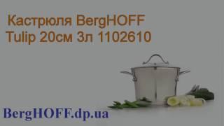 Кастрюля BergHOFF Tulip 20см 3л 1102610 - Обзор от BergHOFF.dp.ua