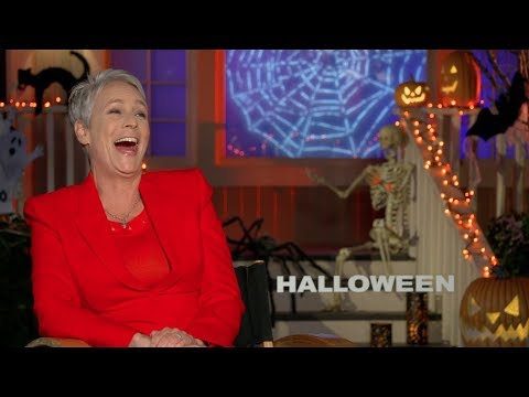 HALLOWEEN s: Jamie Lee Curtis, John Carpenter, Jason Blum and David Gordon Green