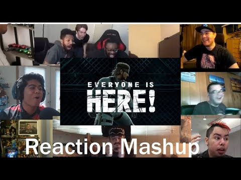 Super Smash Bros  Ultimate   Everyone is Here Reveal Trailer (E3 2018) REACTION MASHUP