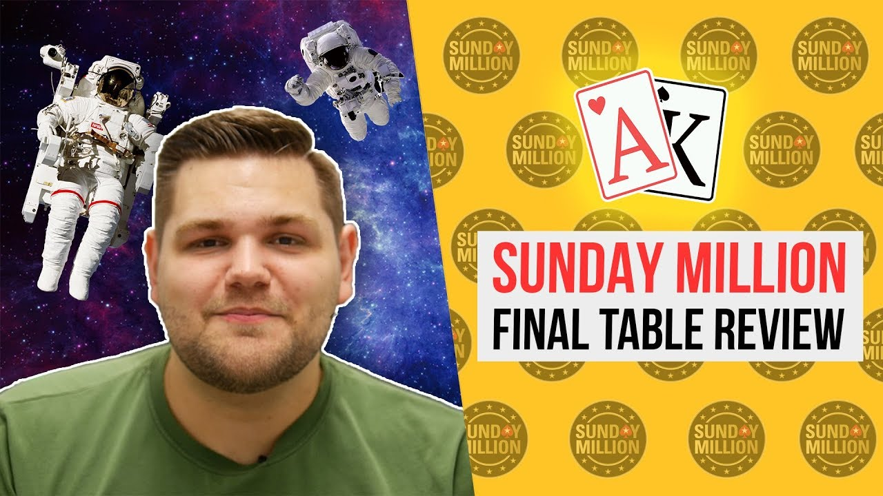 SUNDAY MILLION 11.08 - Final Table review from MARKUS MOERGIS