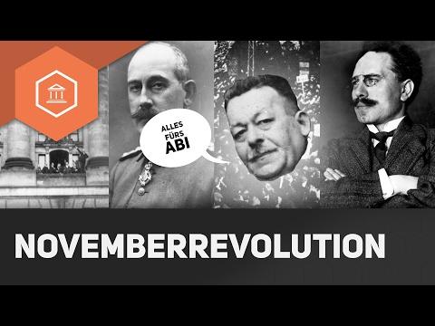 Novemberrevolution - Die Weimarer Republik - Abitur 2017 Zusammenfassung