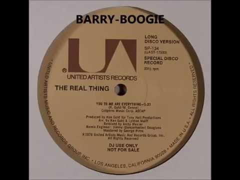 The Real Thing, – You To Me Are Everything (Long Disco Version)