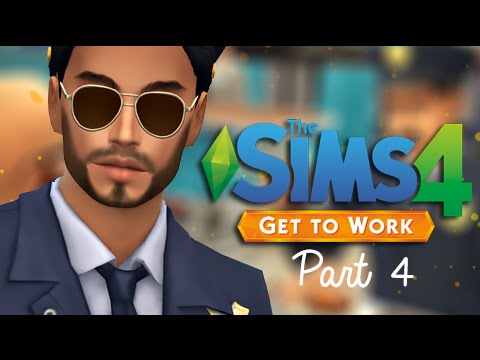 The Sims 4 | Get To Work | Part 4 - On Patrol.