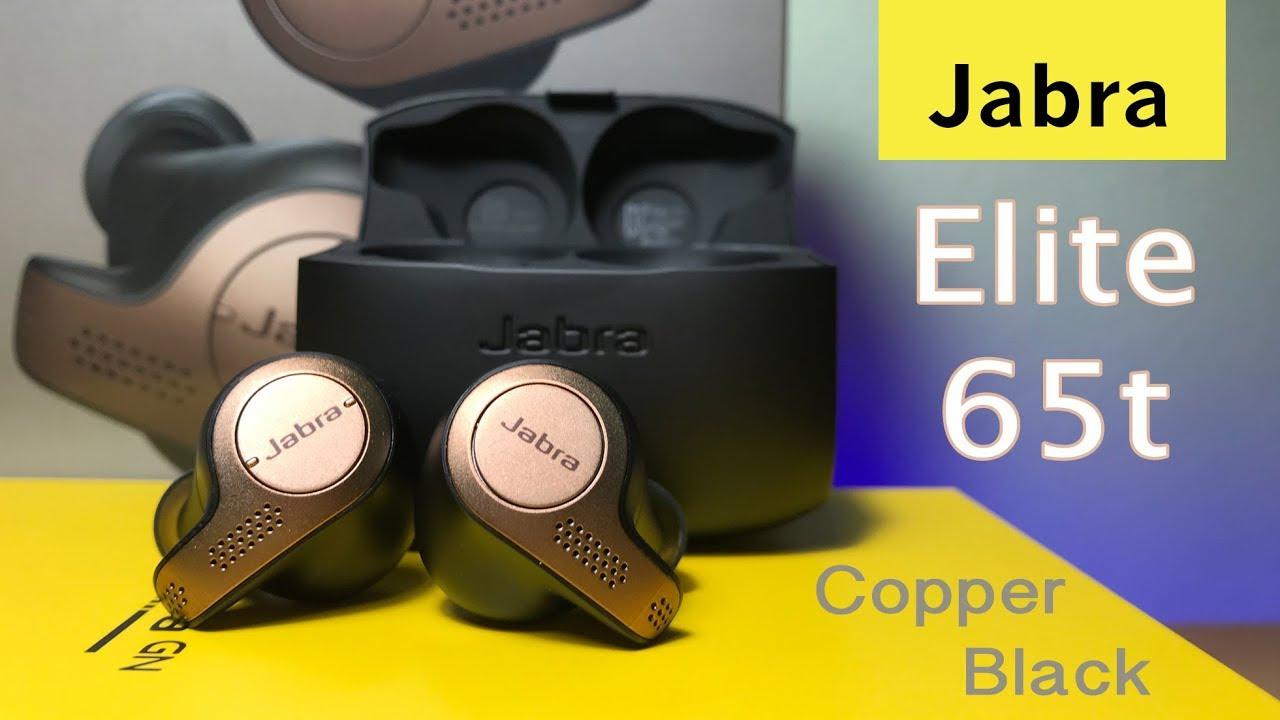 Jabra Elite 65t Copper Black Unboxing Close Up Youtube
