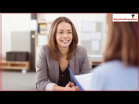 What type of questions are asked during a German Visa interview?