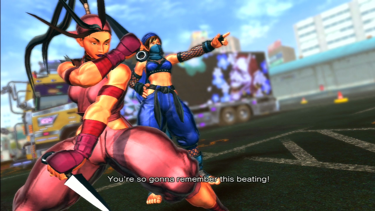 Street fighter x tekken asuka kazama that interrupt