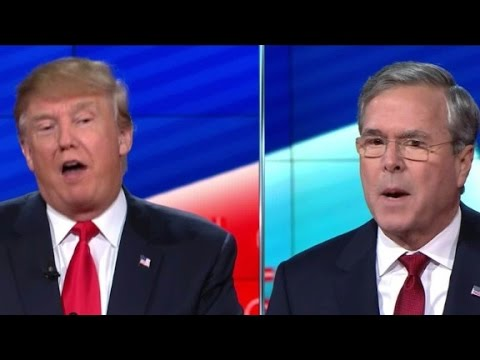Donald Trump: 'Oh, you're a tough guy Jeb'