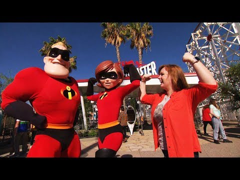 Incredibles Park area and Pixar ball FIRST LOOK for Pixar Pier at Disneyland Resort