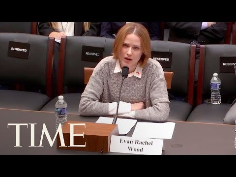 Actor Evan Rachel Wood Details Her Rape And Torture In Testimony To Congress  TIME