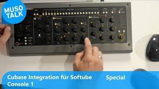 Softube Console1 Integration nicht nur für Cubase
