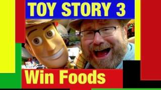 Disney Pixar Toy Story 3 Win Food Toy Review by Mike Mozart TheToyChannel on YouTube