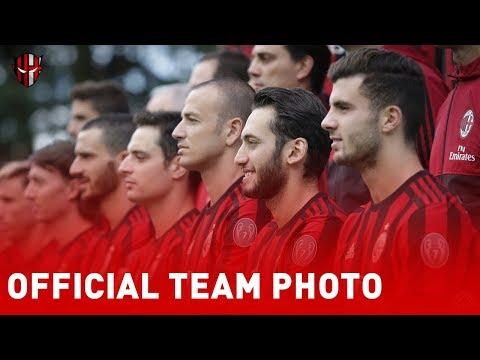 AC MILAN | Official Team Photo 2017/2018