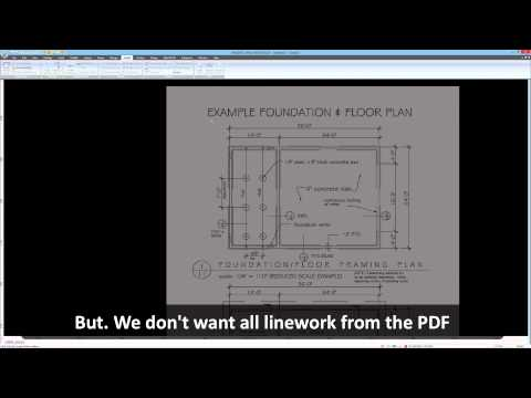 MAGNET Office workflow for PDF to Vector conversion and project site layout with MAGNET Field