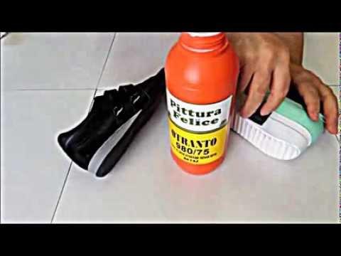 ökçe Ve Spor Ayakkabı Kenar Boyaları Youtube