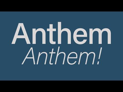 As spoken Welsh - Welsh National Anthem for beginners