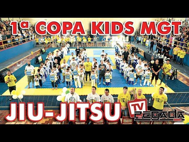 1ª Copa de Jiu-Jitsu Kids MGT - TV Pegada #179