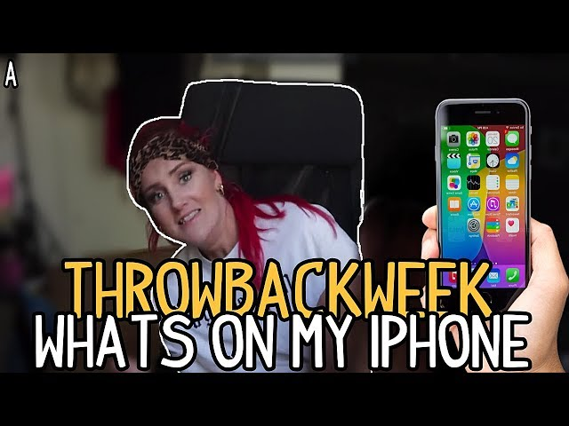TB-WEEK: WHATS ON MY IPHONE