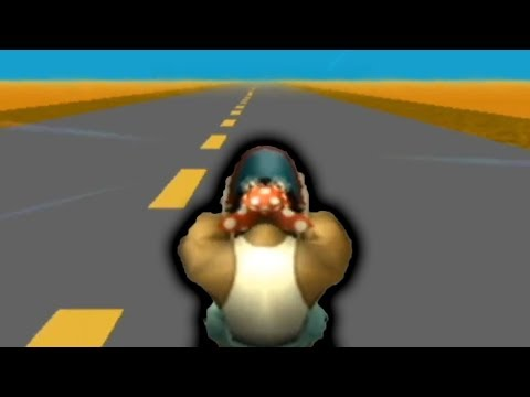 Idiot Plays 1 Mario Kart Track for 6 Hours