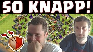 [facecam] CHALLENGE SO KNAPP! || CLASH OF CLANS || Let's Play CoC [Deutsch/German Android iOS PC HD]