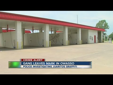 Gang Leaves Mark In Owasso