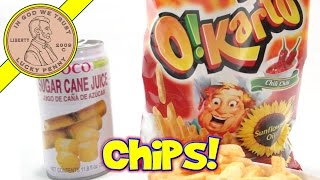 Foco Sugar Cane Juice & O!karto Italian Chips, Like Cream Corn!