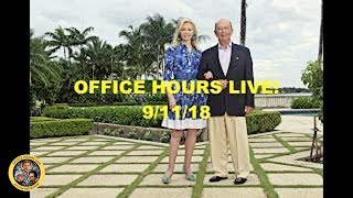 Office Hours Live (9/11/18)
