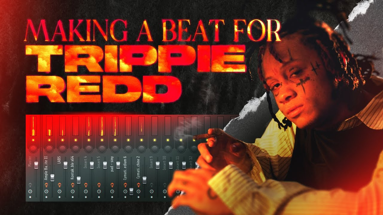 Creating A CRAZY Beat For Trippie Redd!!!