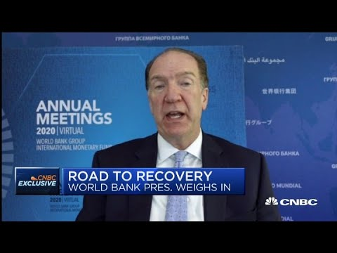 Debt overhang will be a challenge for developing countries: World Bank President David Malpass