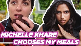 I Let Michelle Khare Tell Me What To Eat for 24 Hours (CHALLENGE)