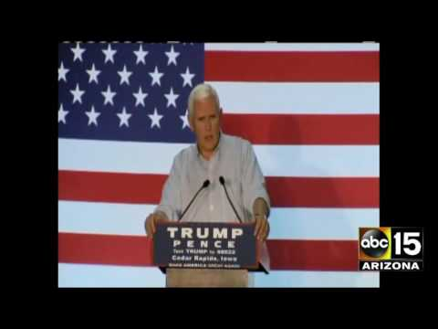 Gov. Mike Pence says Hillary Clinton should be disqualified from being Commander-in-chief - Benghazi