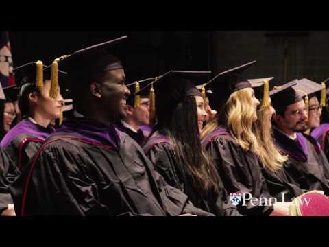 Penn Law Commencement Recap 2017