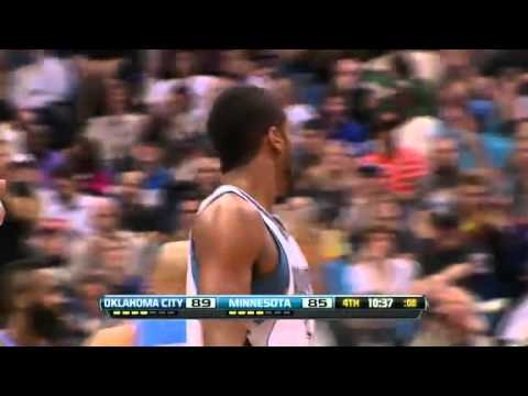 Malcolm Lee bucket and a foul vs. Oklahoma City