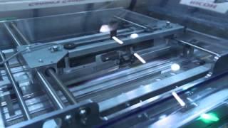 HID 2015 - IBIS Smart-binder inline with a Hunkeler web cutter & Canon Océ Colorstream web printer