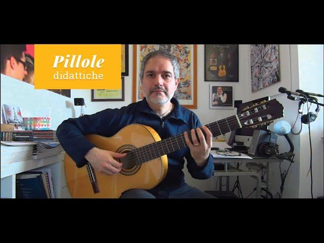 Le scale sulla chitarra e il ruolo della