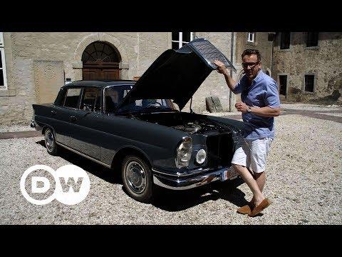 Vintage! Mercedes 220 SEb   DW English