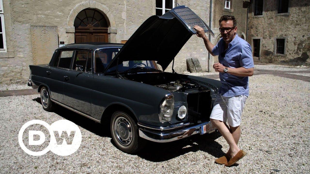 Vintage Mercedes 220 SEb