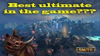 Best ultimate in game? Smite: A Tusky story!