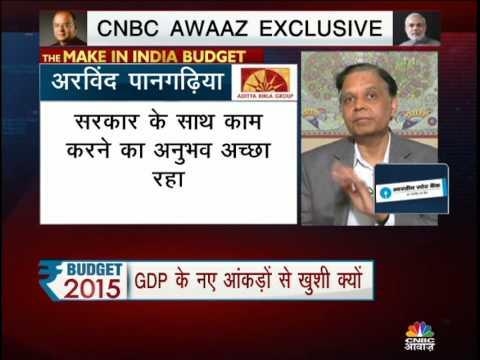 Cnbc Awaaz Exclusive Interview with Vice chairman of Niti Aayog, Arvind Panagariya