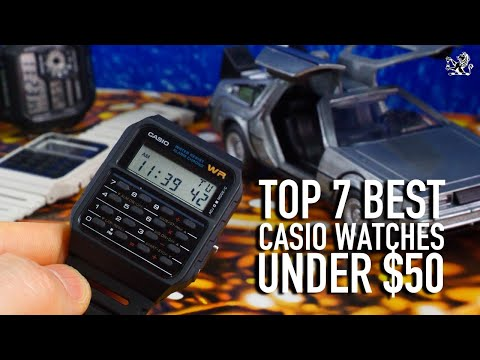 7 Best & Coolest Casio Watches $10 To $50 You Should Consider Buying