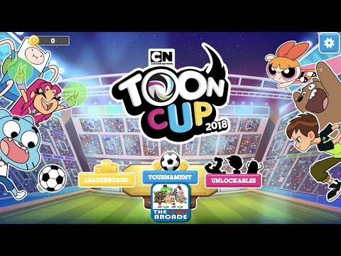 Toon Cup 2018 – Robin, Cyborg and Starfire hit the Soccer Field this Year (Cartoon Network Games)