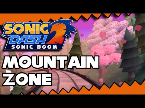 Mountain Zone Showcase - Sonic Dash 2: Sonic Boom