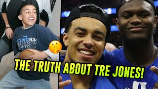 How Tre Jones Recruited Zion Williamson To Duke \u0026 Became A STAR NBA Prospect! The TRUTH About Tre 😱