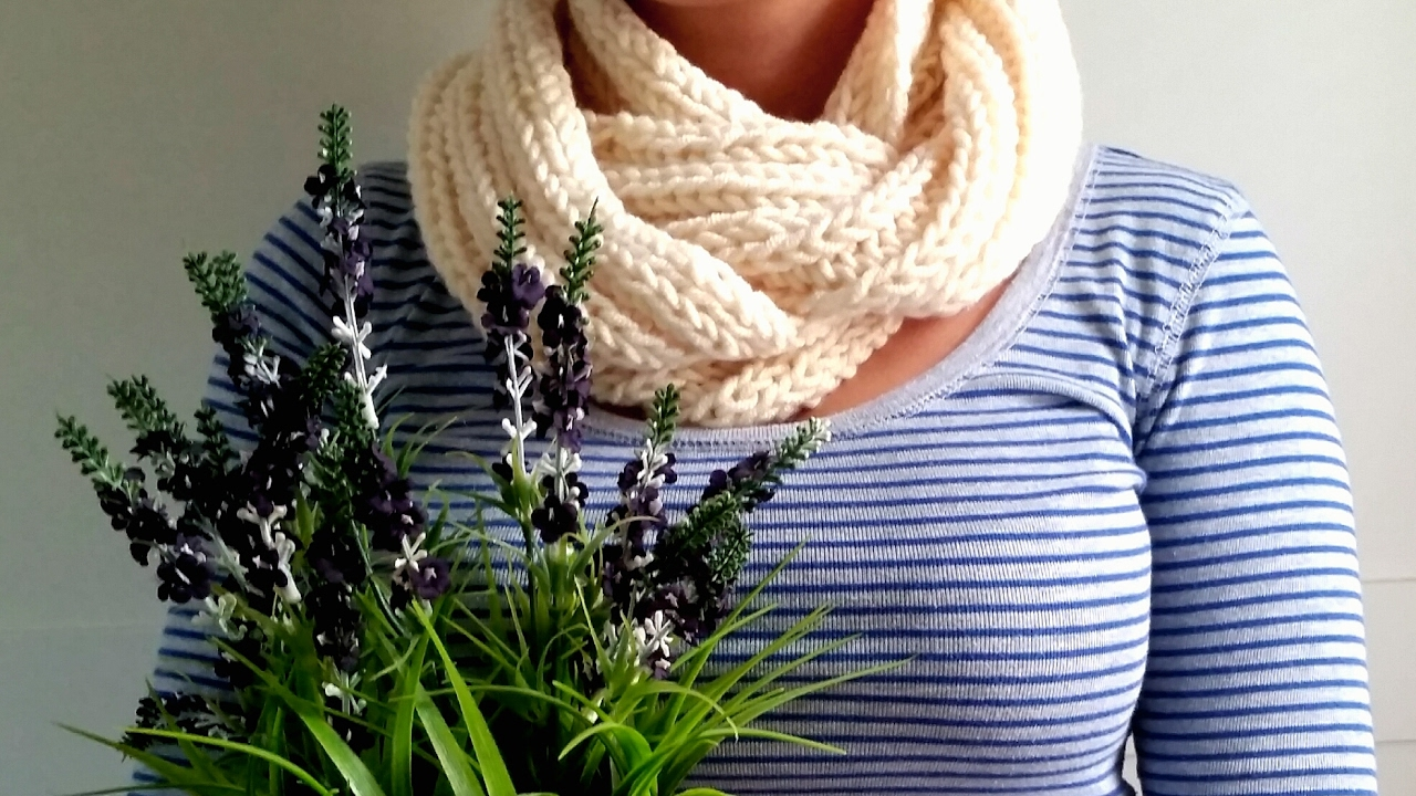 Scarf Knitting Pattern Fast Easy Youtube